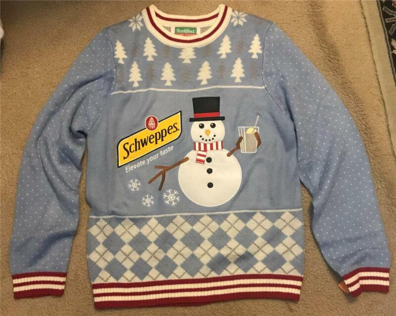 Festified Schwppes Sweater New Without Tags Size Men