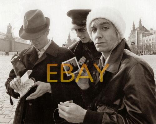 David Bowie & Iggy Pop in Moscow April 1976 - Hi-Res ARCHIVAL Photo (8.5x11)