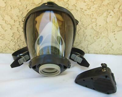 Survivair Sperian Scba Fire Rescue Respirator Mask W Amplifier - 1 Mask