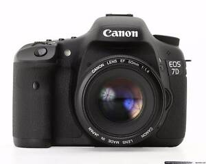 Canon 7D DSLR- New- Need cash urgently - Purchased from US Ingleburn Campbelltown Area Preview