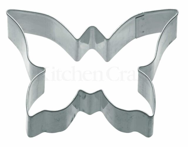 Kitchencraft Butterfly Metal Biscuit/Cookie Cutter. Kids Home Baking/Cakes/Icing