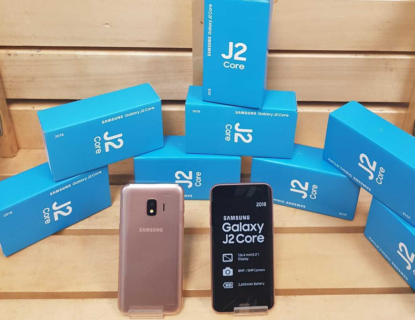 SAMSUNG GALAXY J2 CORE GOLD  NEW 2018 STYLE FACTORY UNLOCK