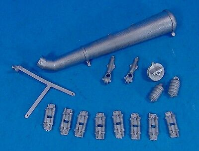 WISEMAN MODEL SERVICES G SCALE OR 1:20.3 WATER TANK SPOUT AND HARDWARE SET
