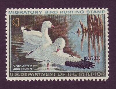 RW37 ( $3 Duck ) - AWESOME GEM - MNH !!