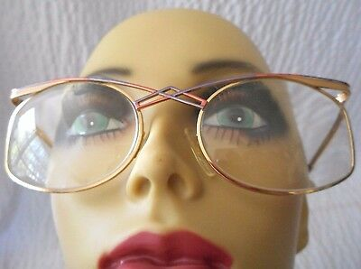 Vintage CAZAL Multi Colored Gold Eyeglasses Sunglasses(FRAME ONLY) MOD (Multi Coloured Glasses Frames)