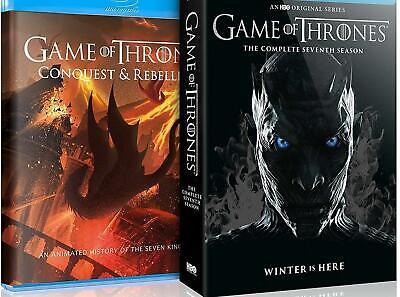 Game of Thrones Season 7 Blu Ray with Bonus Disc