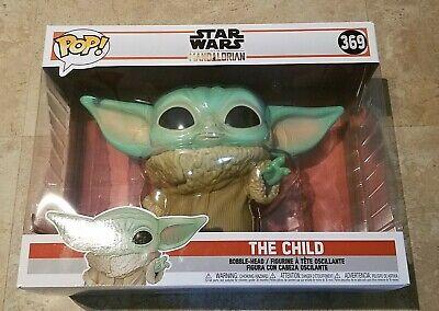 HUGE The Child Baby Yoda Star Wars The Mandalorian 10 Inch Funko Pop 369