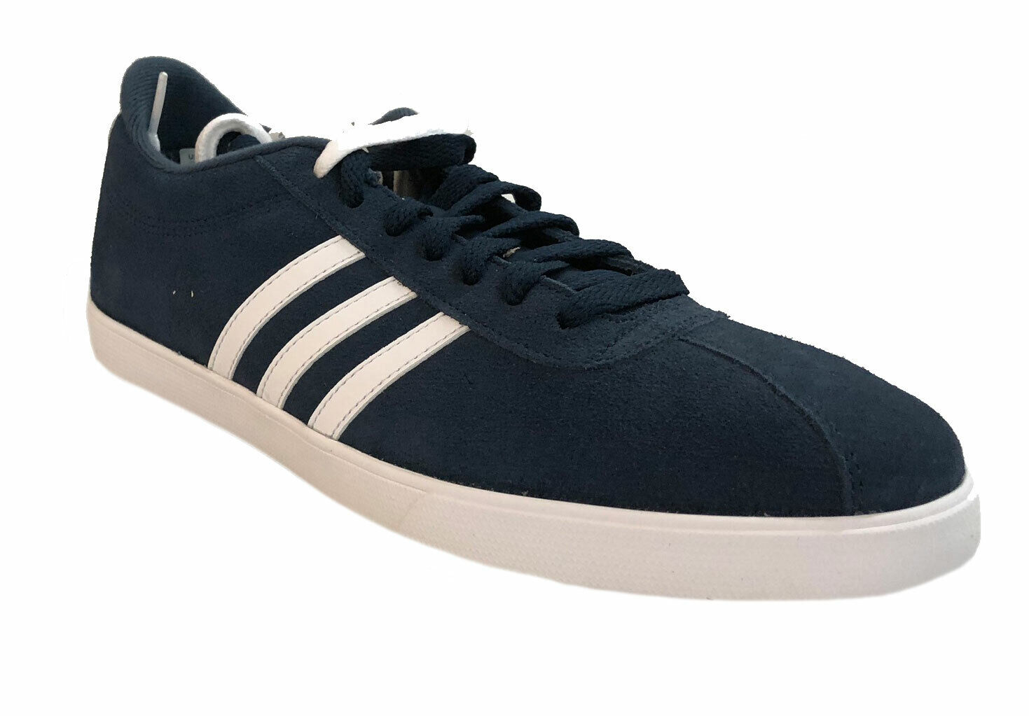 Adidas Women's Neo Cloudfoam Courtset Fashion Shoes Navy