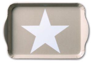 Ambiente-Bandeja-034-Star-Arena-034-gris-topo-Estrella-blanco-Decoracion-Melamina