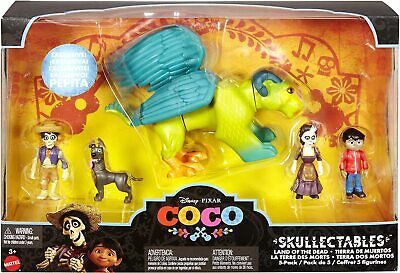 Disney Pixar Coco 5-Pack Figures Skullectables Land of the Dead Pepita Exclusive