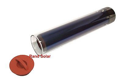 "Large Rand Solar Oven/Stove Evacuated 5"" OD Glass Vacuum Tube Cooker Grill BBQ"