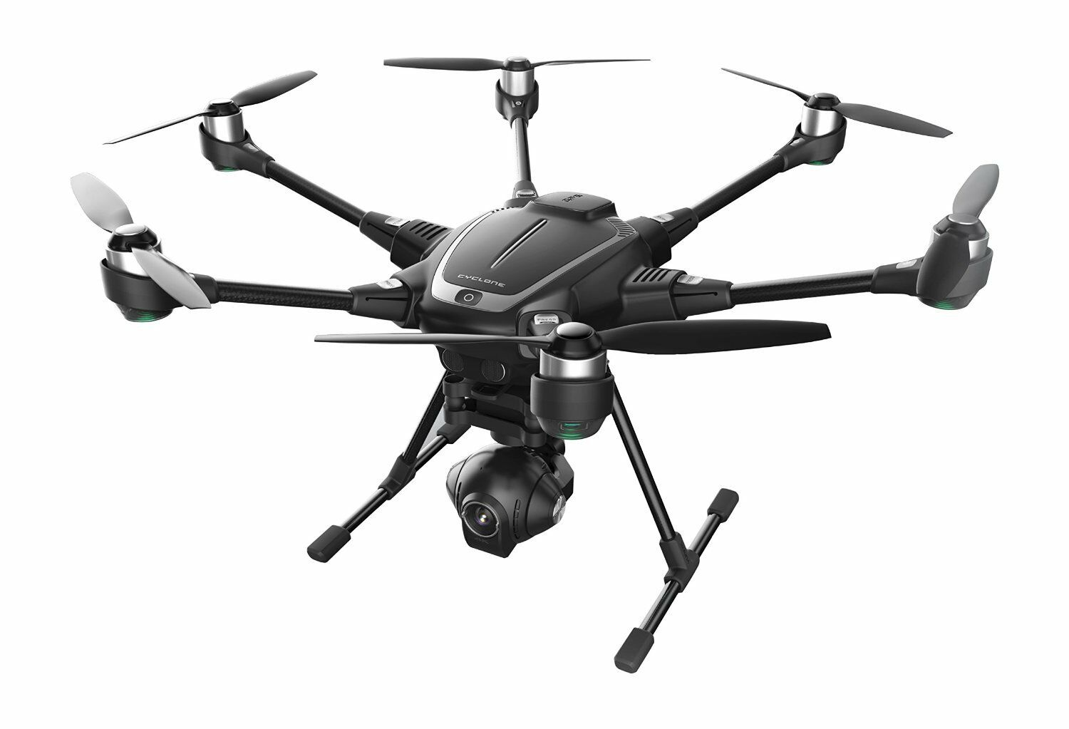 YUNEEC Typhoon H Hexacopter with GCO3+ 4K Camera, Backpack +RealSense Module