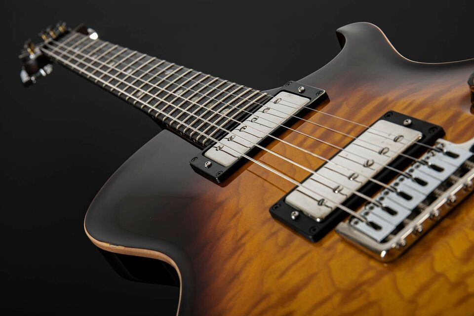 2007 PRS Singlecut Trem Quilted 10 Top Indian Rosewood Neck in Paderborn