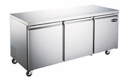 Saba 72 Commercial Undercounter Refrigerator Stainless Steel Food Storage