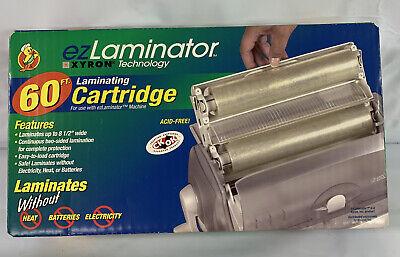 Laminator Xyron Ezlaminator Laminating Cartridge - 60ft New In Box
