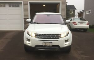 2012 Land Rover Range Rover evoque pure plus CPO warranty