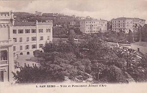 SAN-REMO-Villa-et-Pensionat-Jeanne-d-039-Arc
