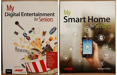 Lot of 2 My Digital Entertainment & My Smart Home for Seniors