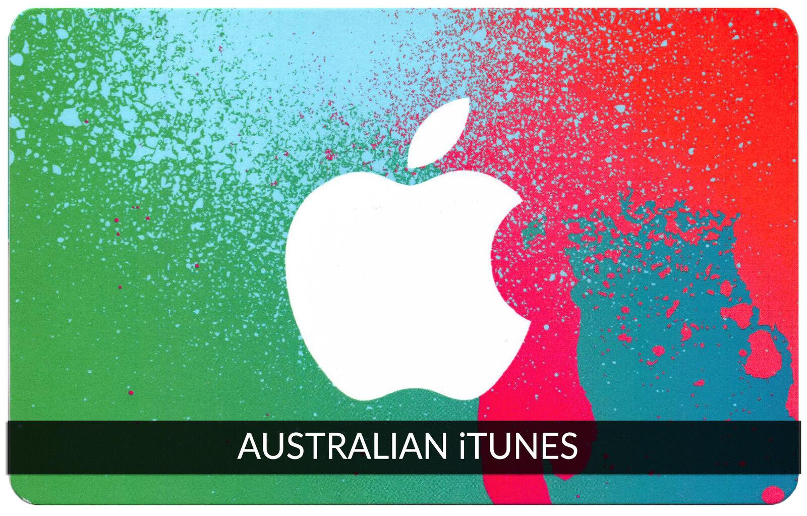 $50 AUSTRALIAN Apple iTunes Gift Card Certificate Voucher AUSTRALIA iTunes Code
