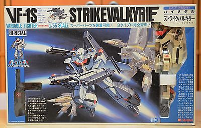 Macross Vintage Bandai Hi-Metal Strike Valkyrie 1/55 VF-1S DYRL