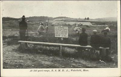 Wakefield MA Gun Rifle Shooting Range BSMRA c1905 Postcard for sale  USA