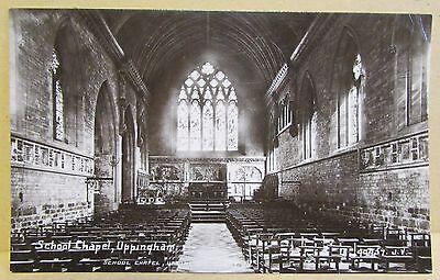 Old Real Photo Postcard - Uppingham School Chapel Uppingham Rutland