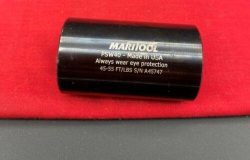 MariTool RETENTION KNOB SOCKET FITS ALL 40 TAPER (CAT40 BT40) PULL STUD PSW40M