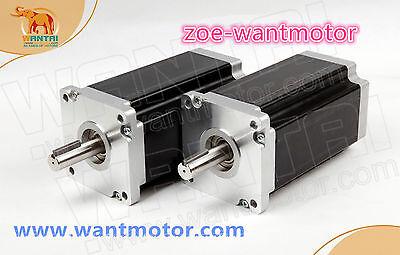 Neweu Free Ship 2pcs Nema 42 Wantai Motor 110bygh150-001150mm 6a 3256oz-in