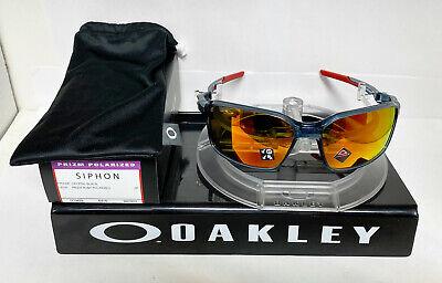 Oakley SIPHON SUNGLASSES CRYSTAL BLACK / PRIZM RUBY POLARIZED OO9429-0364