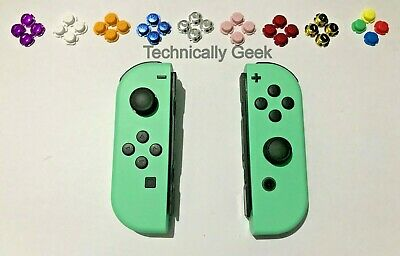 New Nintendo Switch Custom Joycons Mint Green Joy Con Custom Buttons
