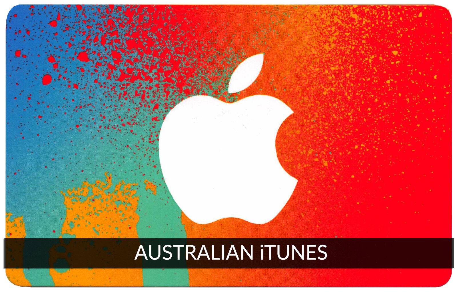 iTunes Gift Card $30 AUSTRALIAN Apple   App Store Key Code AUSTRALIA   iPhone..