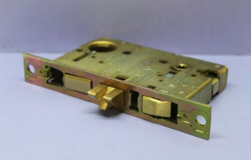 ⭐ OMNIA 2000/A Deadbolt Mortise Lock Case - for Left Handed Door - Knob Handle
