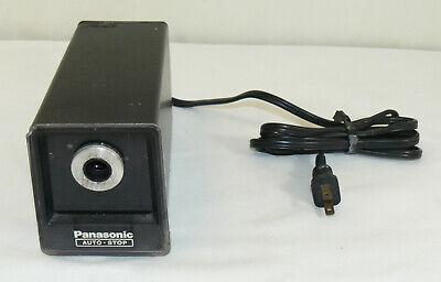 Vintage Panasonic Auto-stop Desktop Electric Pencil Sharpener Kp-77s Japan