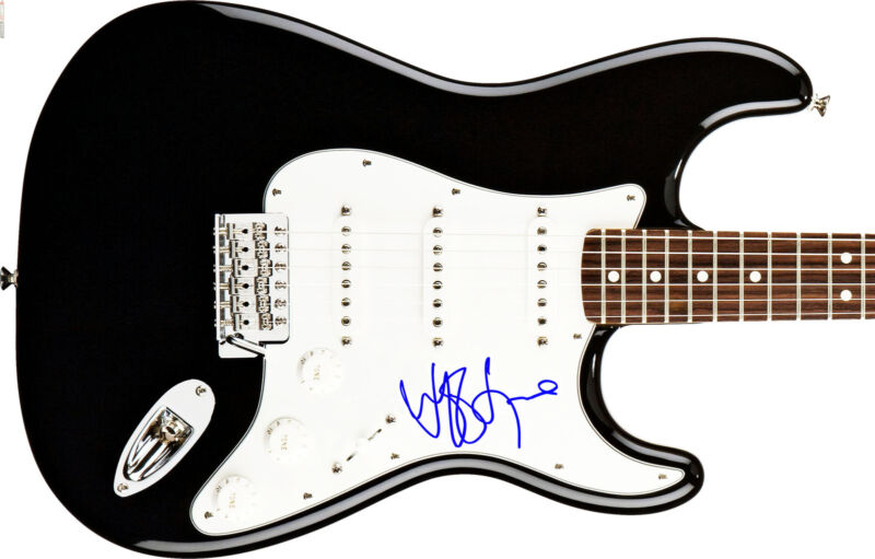 JEFF LYNNE ELO HAND SIGNED AUTOGRAPHED ELECTRIC GUITAR! WITH PROOF + C.O.A.!