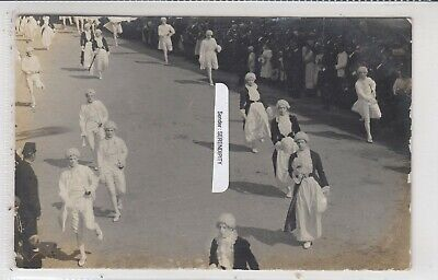 CREWE Procession c1910 Costumes Dancing Animated RP by J L Hart Message 2 of 2 for sale  Shipping to South Africa