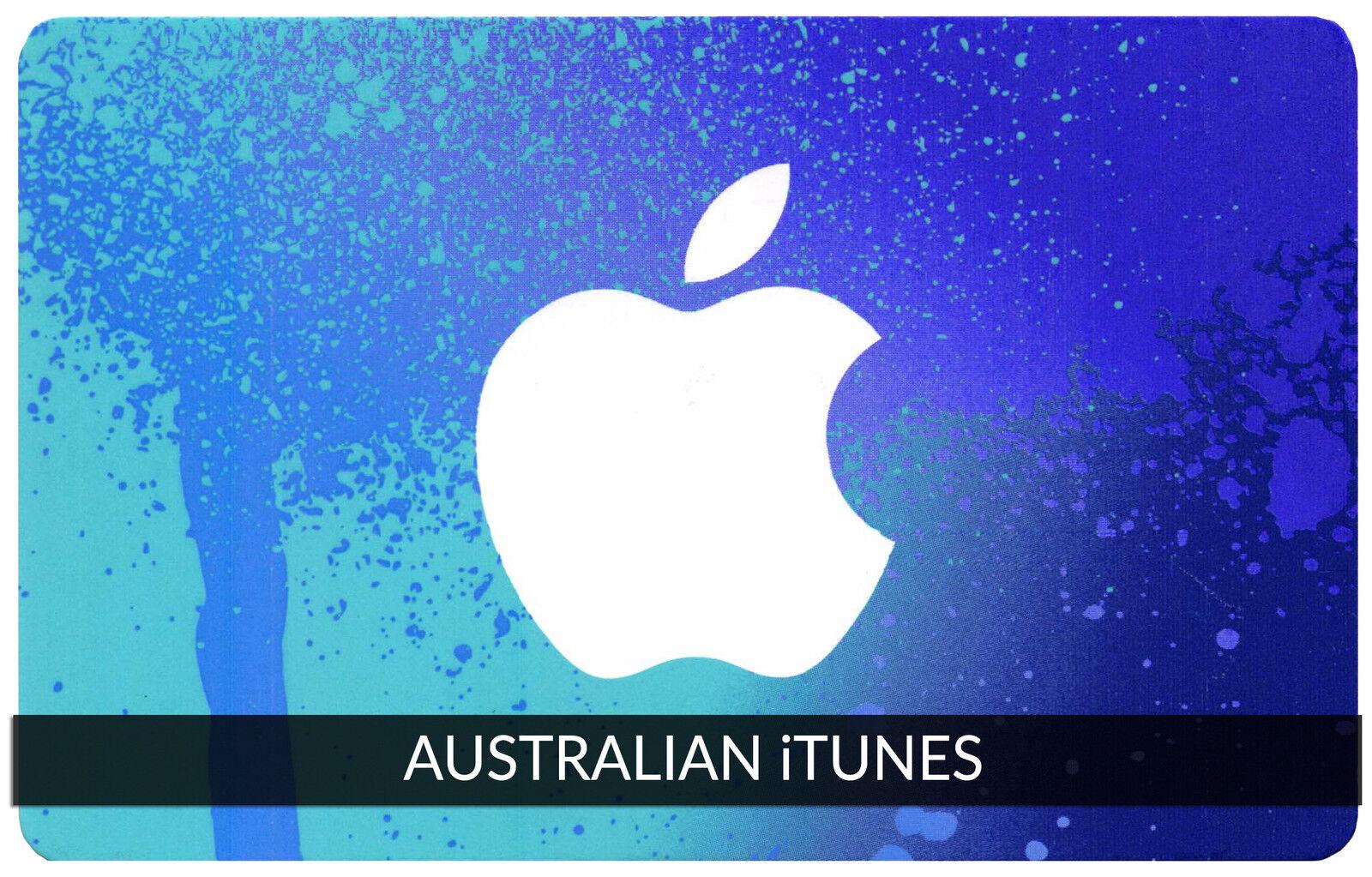 $20 AUSTRALIAN Apple iTunes Gift Card Certificate Voucher AUSTRALIA iTunes Code