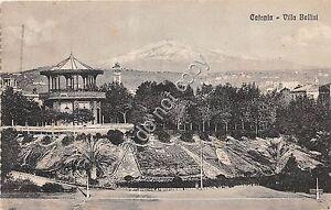 Cartolina Catania Villa Bellini 1927 - Italia - L'oggetto può essere restituito - Italia
