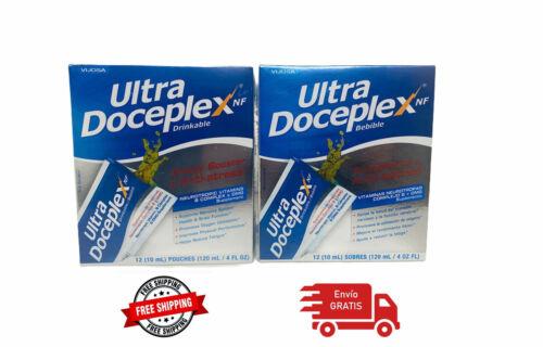 2 ULTRA DOCEPLEX ENERGIZANTE ANTIESTRES ULTRADOCEPLEX 12 SOBRES ENVIO GRATIS