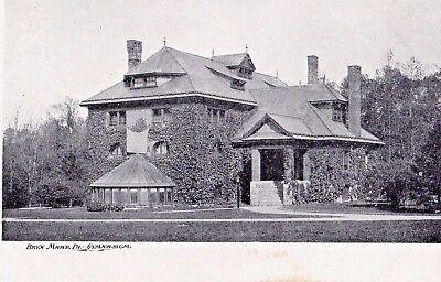 Gymnasium At Bryn Mawr College In Bryn Mawr Pa Pre 1908