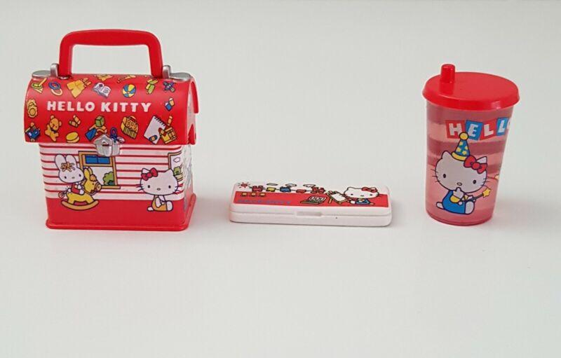 Sanrio Vintage Miniature Hello Kitty Collection Set