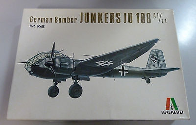1/72 Italeri Junkers Ju-188 A1/E1 , used for sale  Simi Valley