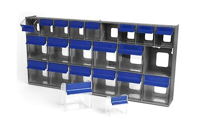 Quantum Storage Closed Shelving Storage System With Various Euro Drawers For Sale Online Ebay