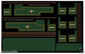 LHP HD200B TRIANG RAILWAYS HORNBY R59 3MT GREEN 2-6-2 REFURB TRANSFERS BR LATE