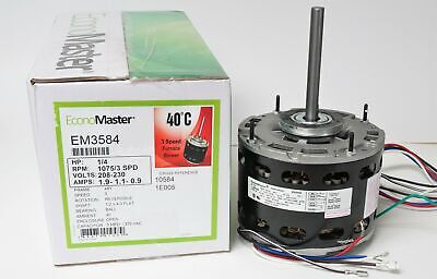 Air Handler Furnace Hvac Blower Motor 3584 14 Hp 10753 Rpm 230v 48 Frame