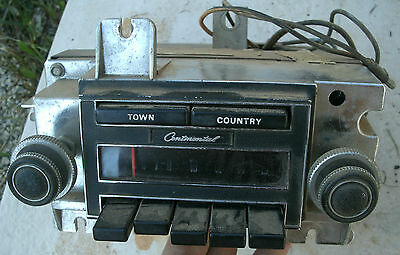 1970 70 1971 71 Lincoln Continental Town Country AM Radio Factory Original OEM