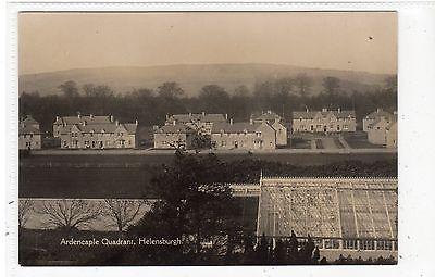 ARDENCAPLE QUADRANT, HELENSBURGH: Dunbartonshire postcard (C22022)