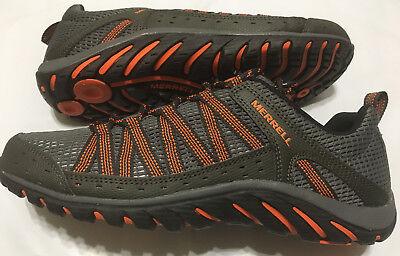 Nib Mens Merrell Hymist J362359c Beluga M  Orange Hiking Shoe Select Size  110