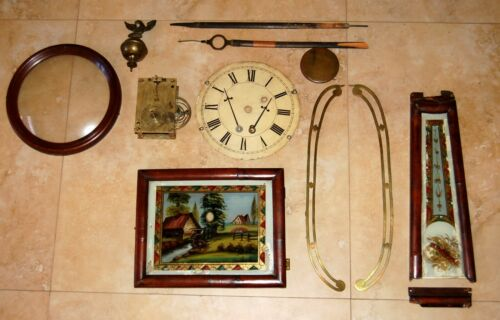 American Weight Driven Banjo Clock Parts