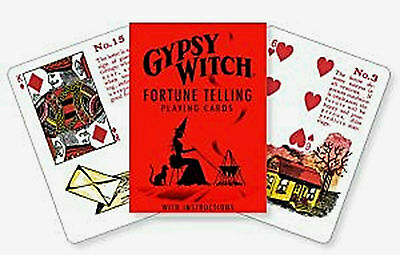 Gypsy Witch Fortune Telling Card Deck Classic Lenormand Style Cards Wicca