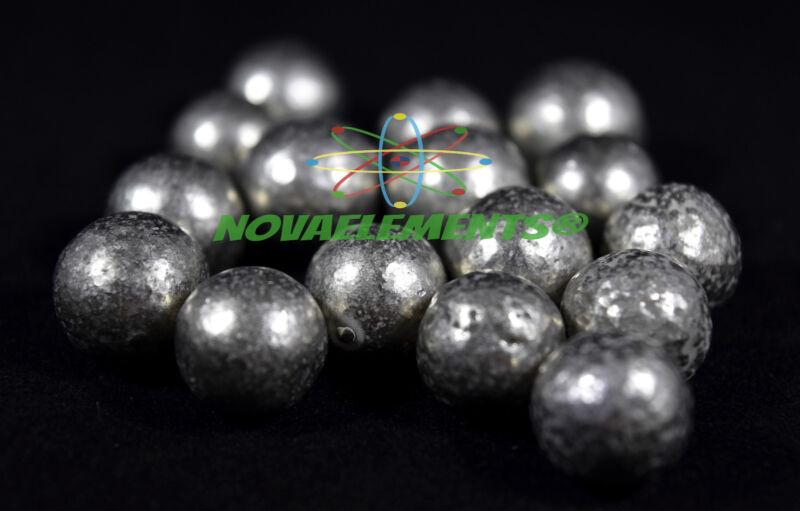 Nickel metal element 28 Ni sample, one BIG sphere 99,99% >10 grams in HQ bag